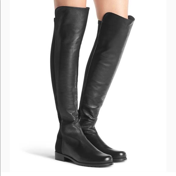 4128d3ea6062 Stuart Weitzman Reserve knee high boots leather. M 5b904c4fd365be2ebf1a45f1
